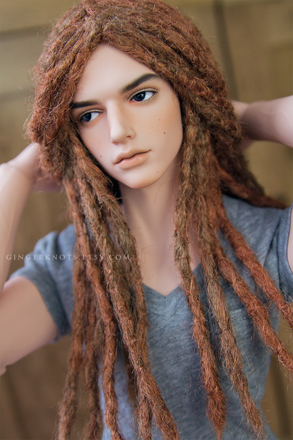 Strawberry Blonde SD Dreadwig by Geekisthecolour