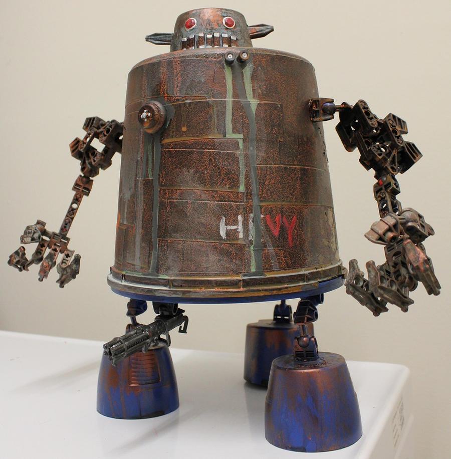 assemblage crotch gunner by rupertvalero