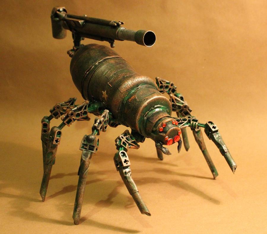 spider howitzer 8 by rupertvalero
