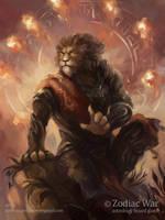 Zodiac Wars Leo by pearl-of-light