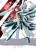 Erza Scarlet (FAN ART) Fairy Tail by Kamikazechino