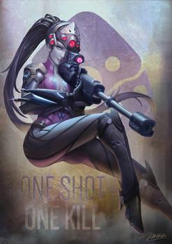 Widowmaker Overwatch Fanart