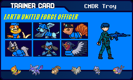 Commander Troy Trainer Card by BusterBuizel