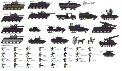 Modern Medieval Armament Sheet 2