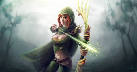 Windrunner Dota 2 by creat78