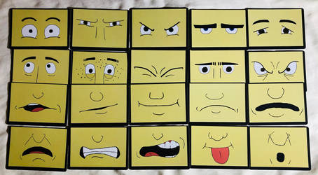 What's-Its-Face Cards