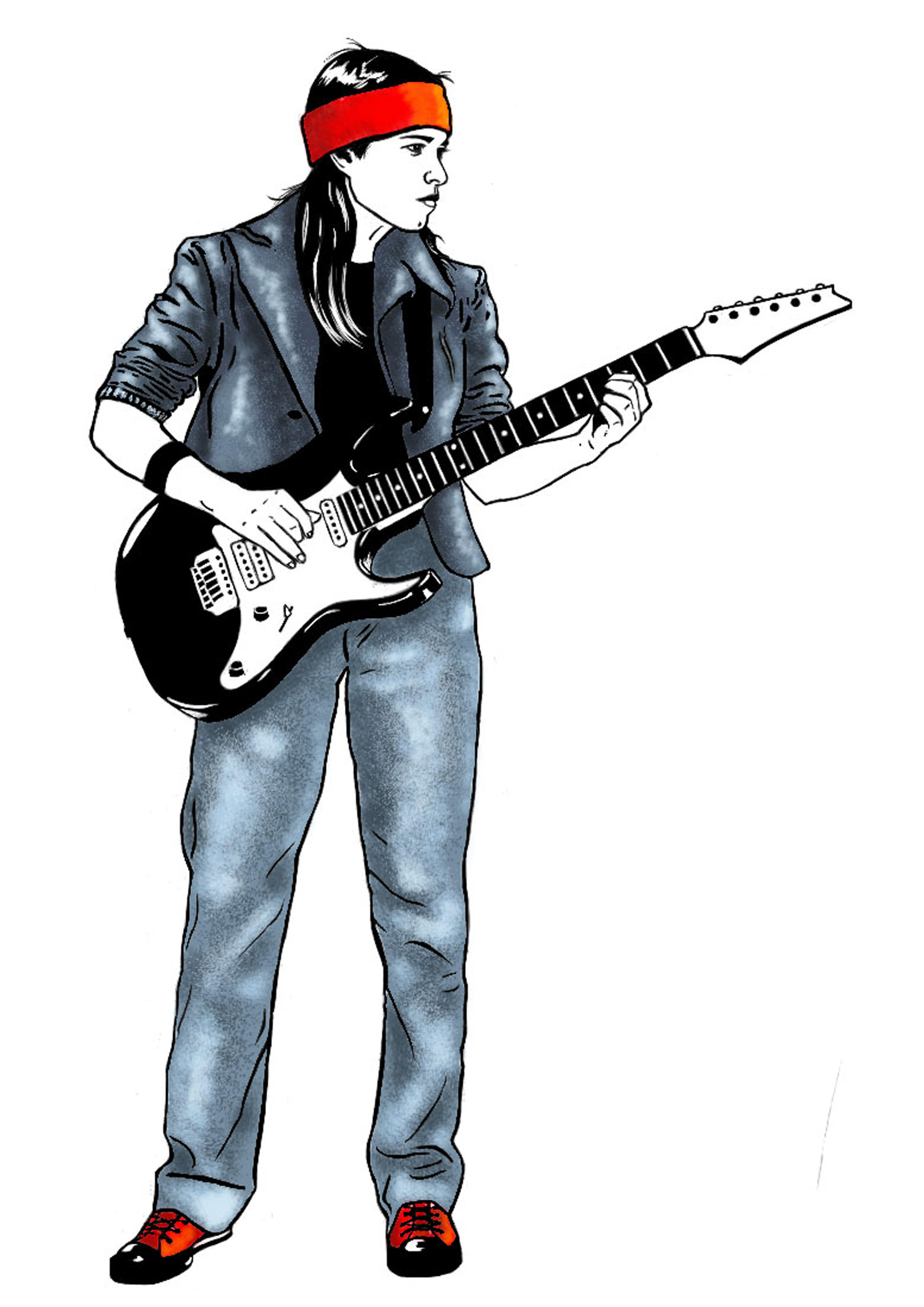 Me - Guitar Player by Liko on DeviantArt