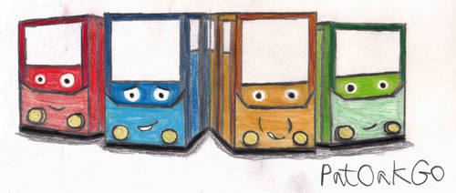 The City Trams by PatOakGo