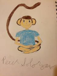Wu, my monkey boy OC by Angelman26