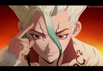 Senku Ishigami (Manga Dr. Stone 12)