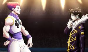 Hisoka vs Chrollo | Hunter x Hunter 351