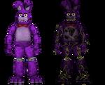 *commision*Origin Bonnie And Origin Bonnie in FF