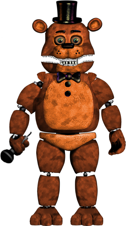 Tithered(or Revithered) Unwithered Freddy by WicherOfficial