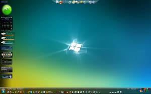 My desktop Dreamscene by bazikcho