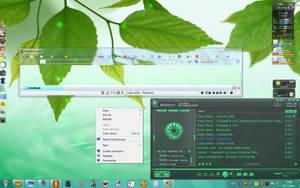 Win7 My desktop by bazikcho