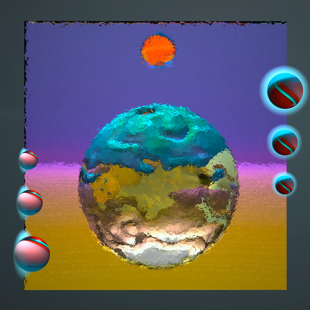 A Portrait of Spheres by MikeHenry