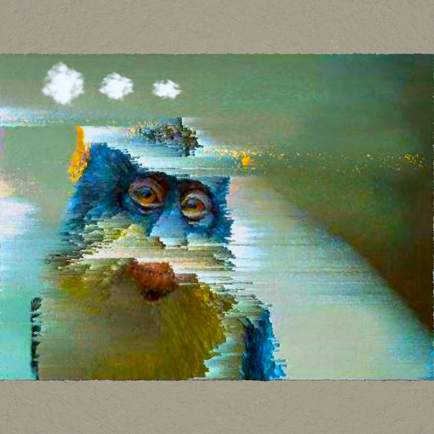 Ill Wind Blu Monkey by MikeHenry