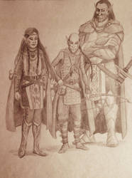 The Elven-Sibling-Undead-Slayer-Party