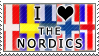 I Heart the Nordics stamp by yokonami