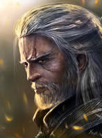 Geralt by TamikaProud