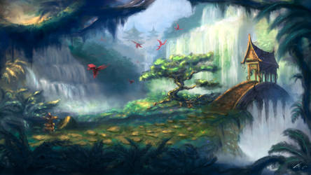 Secret Garden by TamikaProud