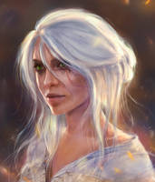 Ciri by TamikaProud