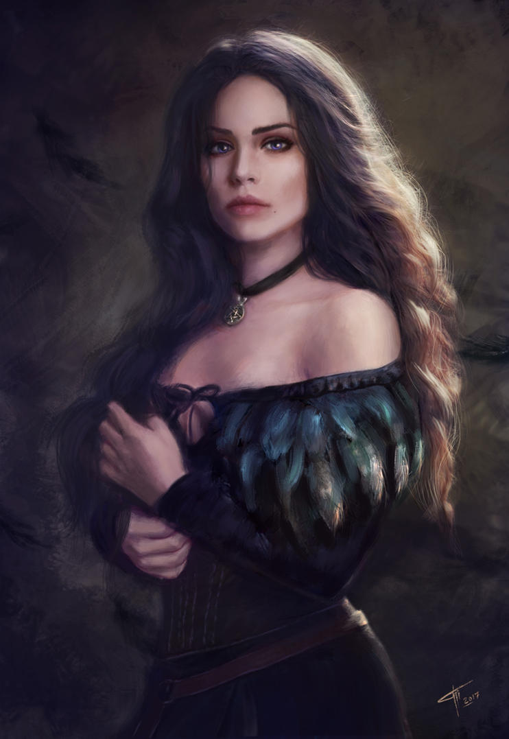 Yennefer by TamikaProud