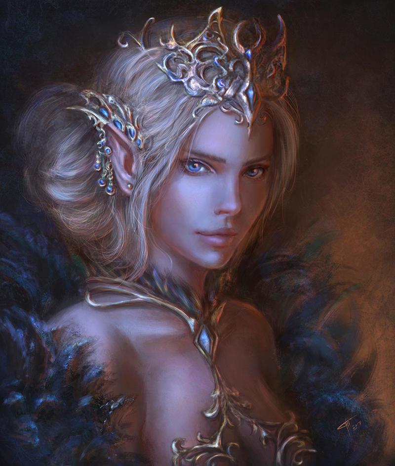 Elf Queen by TamikaProud