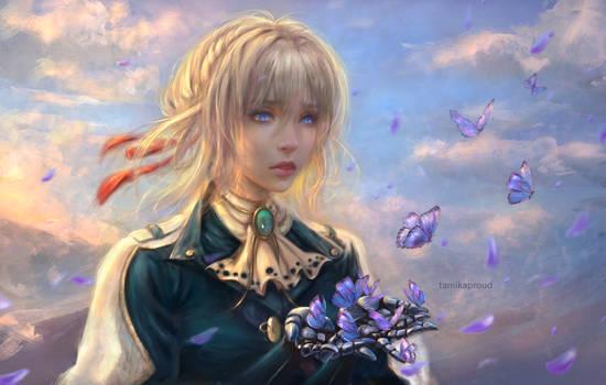 Violet Evergarden by TamikaProud