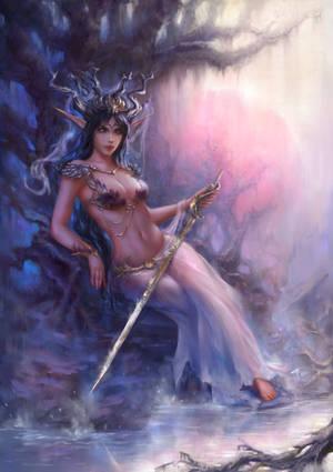 elven queen by TamikaProud