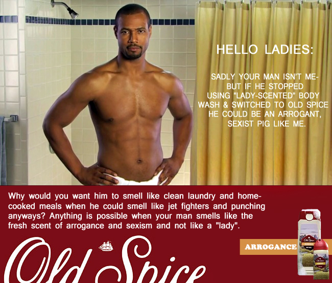 a personal analysis of the old spice commercial Your university of affiliation advertising techniques used in the old spice commercial – always #likeagirl – keep going your name your professor's name.