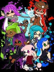 Squid friends