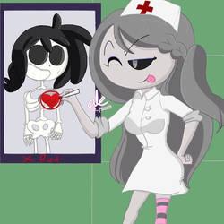 Hello Nurse !! X Ray Fred's Heart