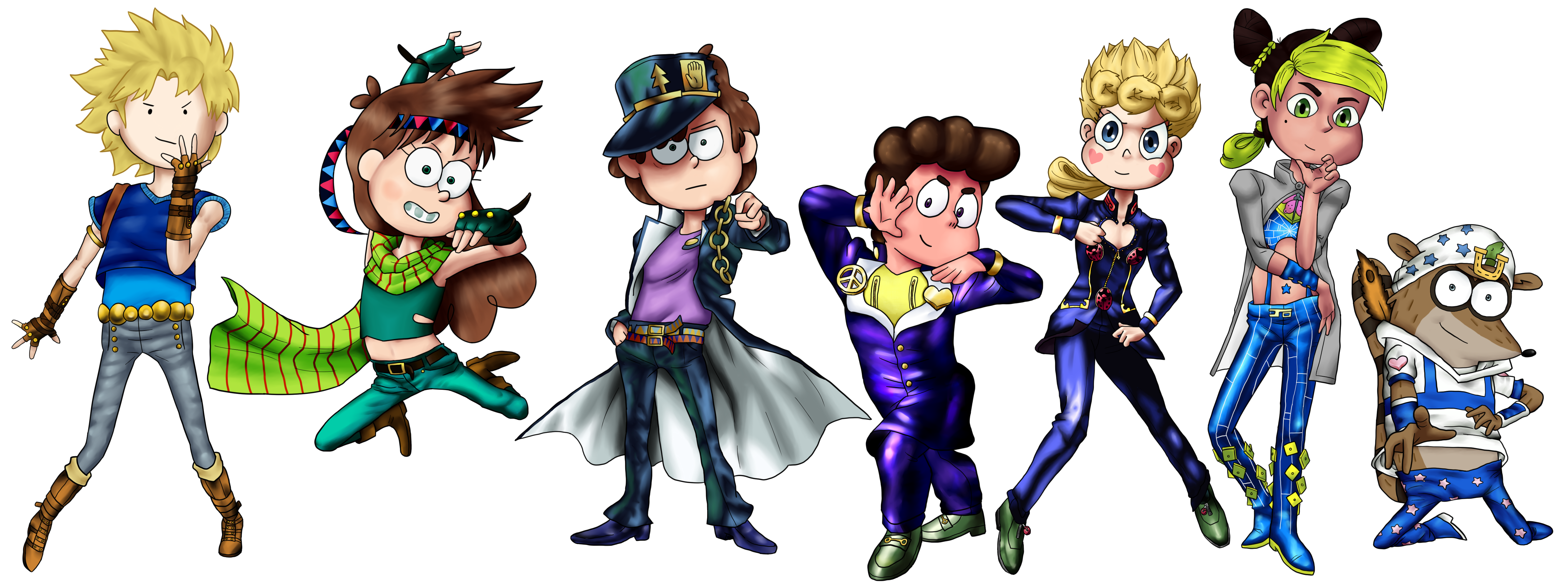 Crossover Group 2 Lineup by SsjGokux20 on DeviantArt