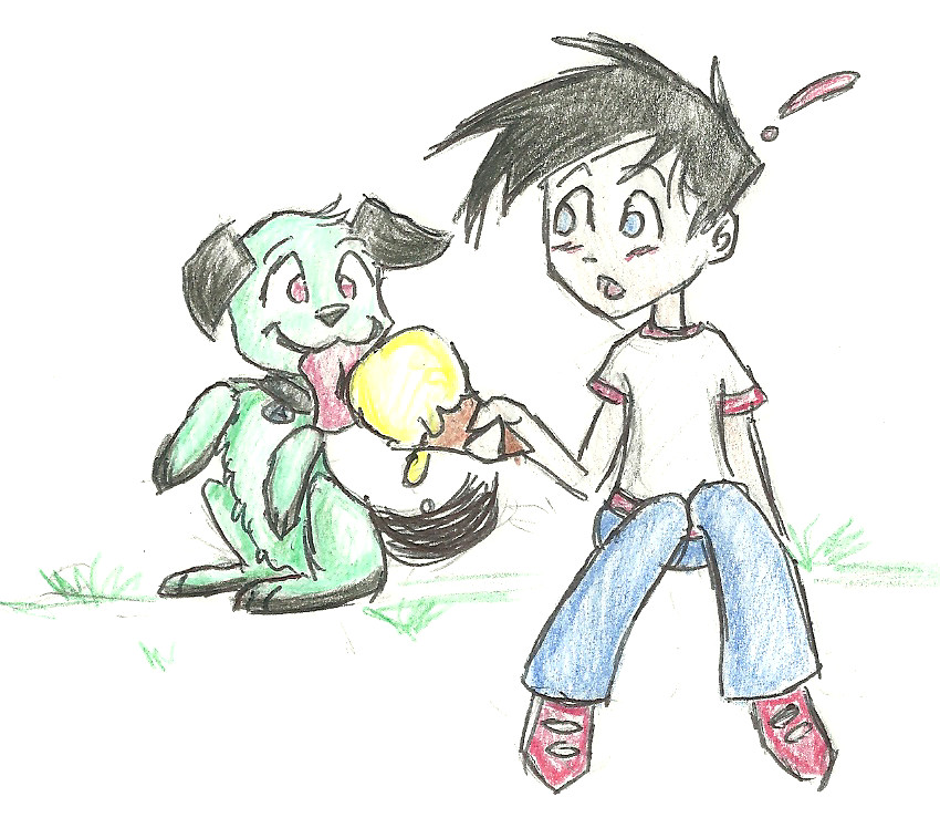 DP: A Boy And His Dog... By Chessy-cat On DeviantArt