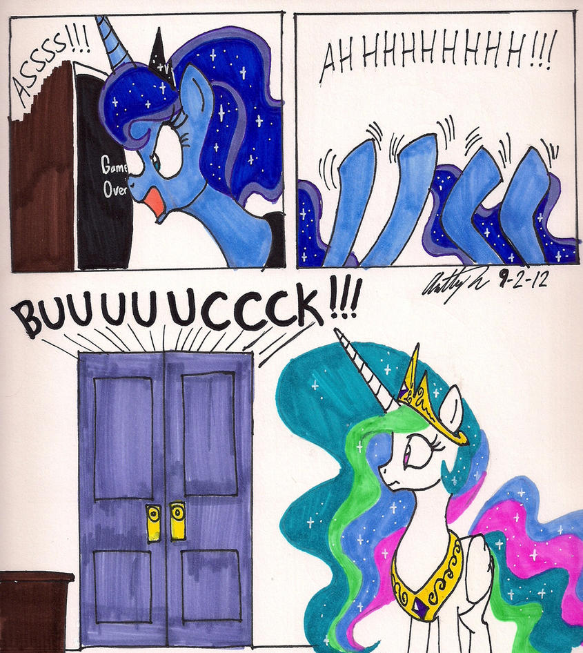 Angry Video Game Luna part 2 by newyorkx3