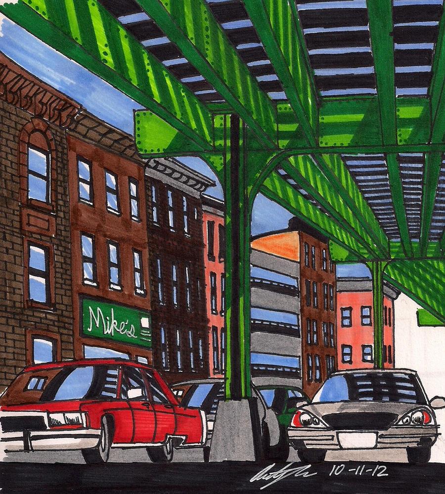 Streets in Brooklyn, NY by newyorkx3