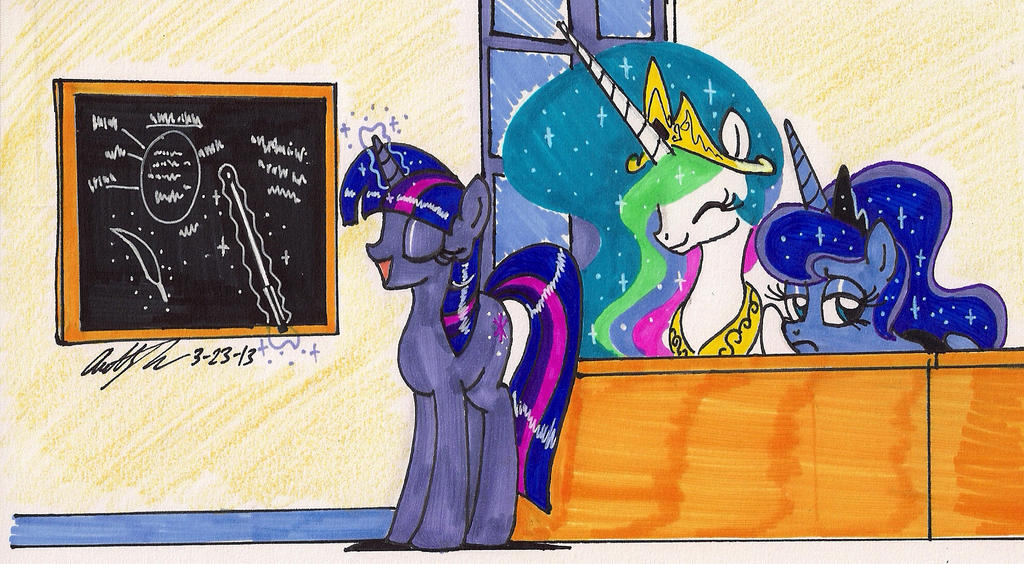 Teacher Twilight Sparkle by newyorkx3