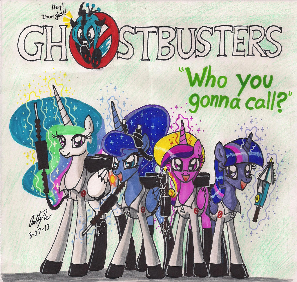 The Royal Ghostbusters! by newyorkx3