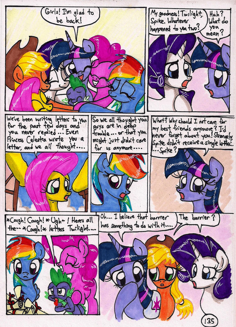 Twilight Sparkle and the Big City Page 135 by newyorkx3