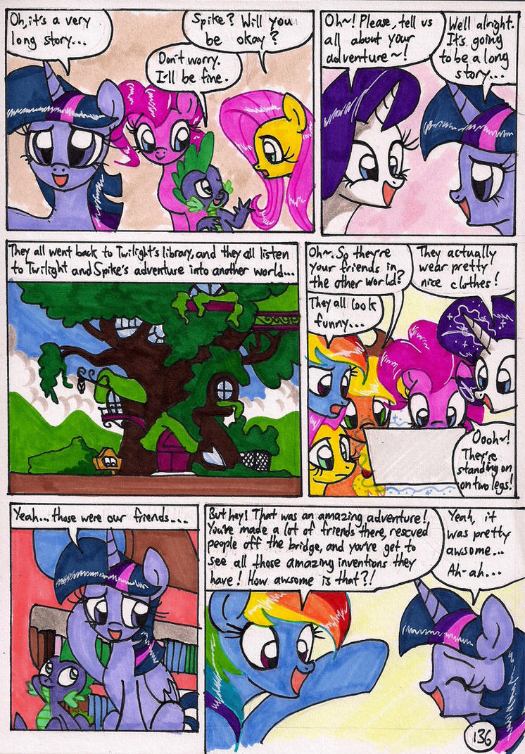Twilight Sparkle and the Big City Page 136 by newyorkx3