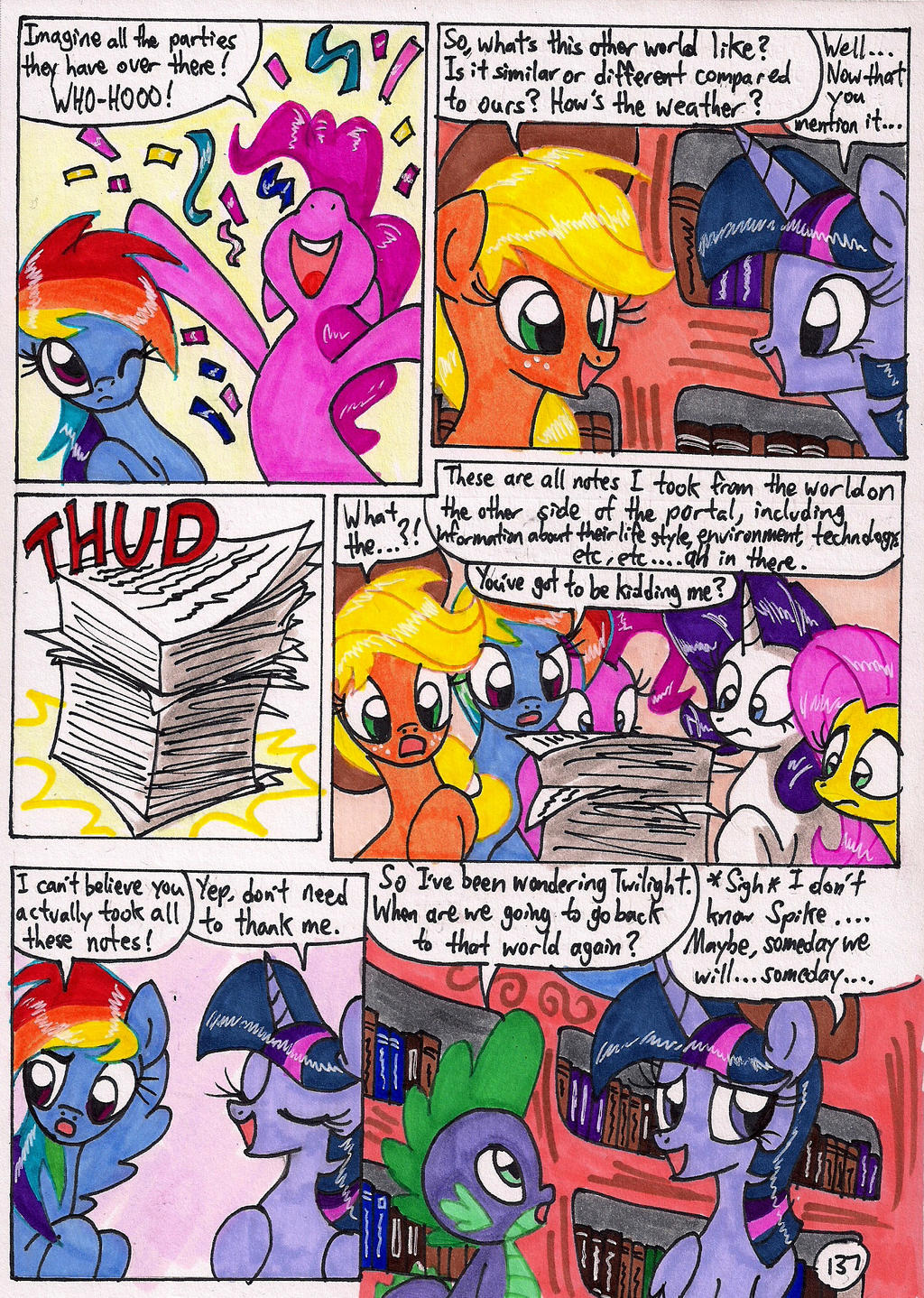 Twilight Sparkle and the Big City Page 137