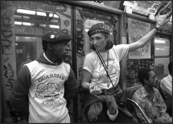 Guardian Angels NYC 1980s by newyorkx3