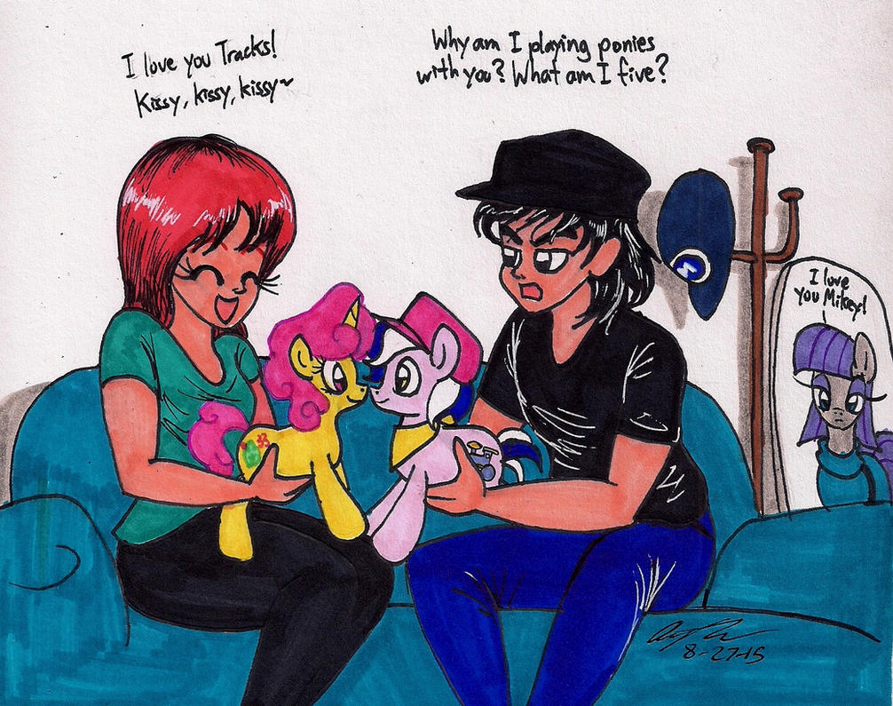 Karen and Mikey IRL by newyorkx3