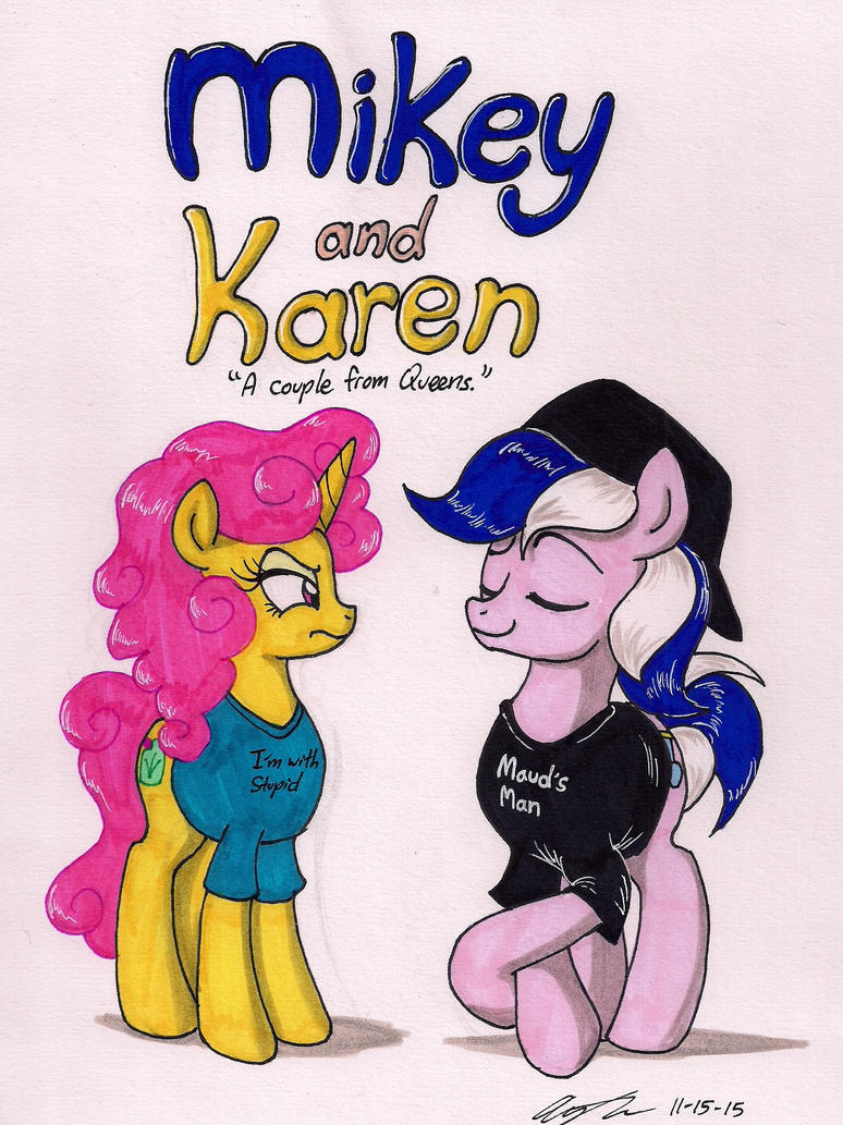 Mikey and Karen Comics Cover by newyorkx3