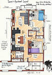 Tommy's Apartment Layout