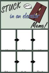 elevator meme version 2 by fadeXaway423