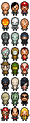 More pixel people by RedKnight91