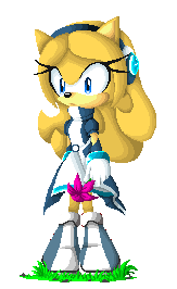 Maria Robotnik (Pixel Art) by KittyKatu