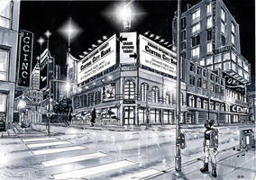 Webcomic splashpage - city at night 2